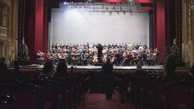 Зимняя праздничная программа оперного