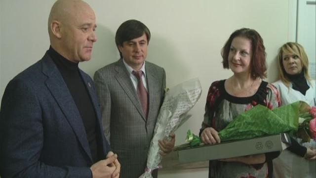 Новая амбулатория для одесситов Приморского района