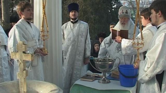 Крещение Господне. Праздник в Свято-Успенской обители