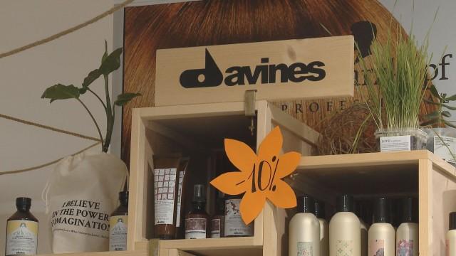 Эко-брэнд DAVINES в салоне на Добровольского, 104