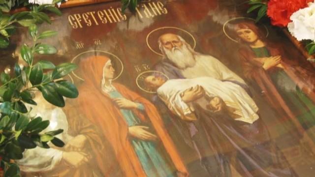 Сретение Господне. Один из 12 главных праздников православия