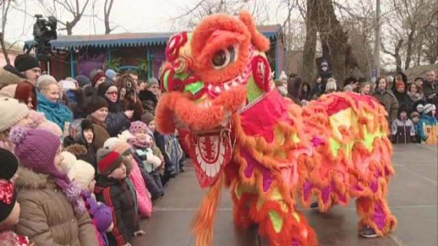 В Одесском зоопарке отпраздновали китайский Новый год