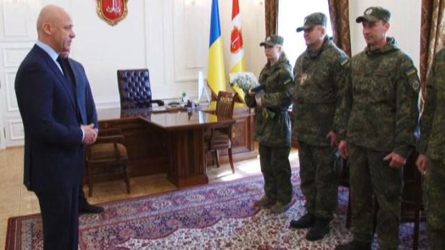 Батальон спецназначения «Шторм» вернулся в Одессу