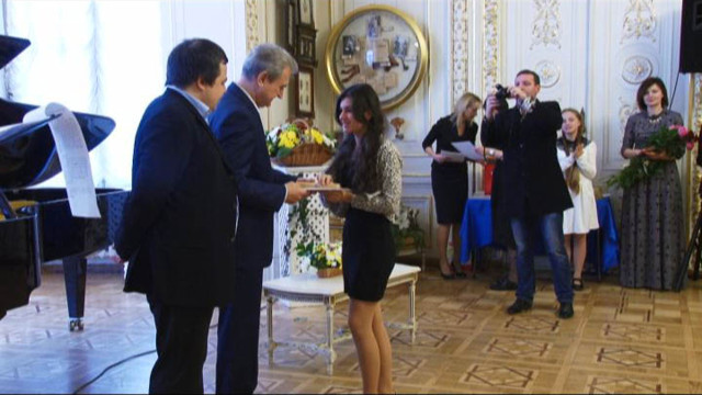 Награждение победителей конкурса «Шаг к успеху»
