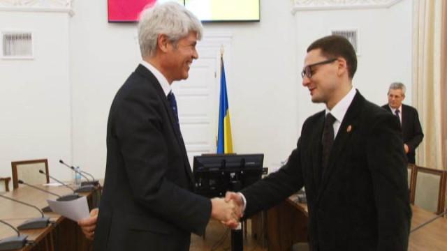 Первый визит в Одессу посла Швейцарии в Украине