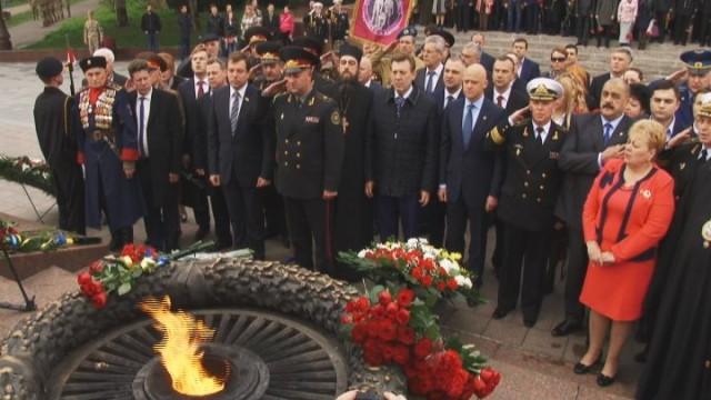 «Оппозиционный блок» почтил память героев-освободителей Одессы