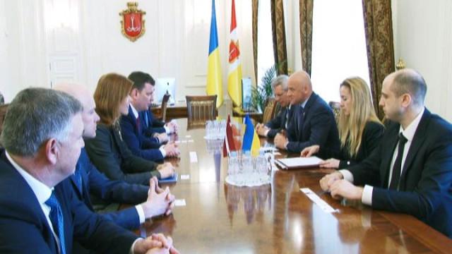 Визит Посла Латвии.  Международное сотрудничество