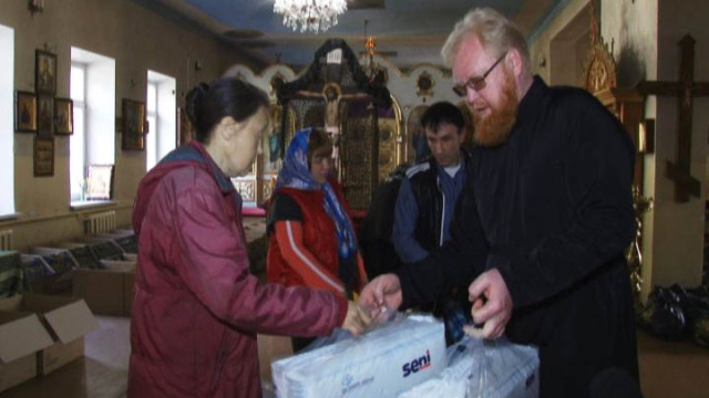 Нуждающиеся одесситы получили помощь от Одесской епархии
