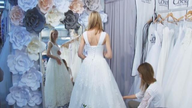 Выставка свадебной моды на Одесском морвокзале