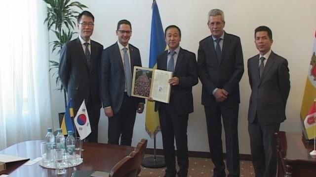 Встреча с послом Республики Корея