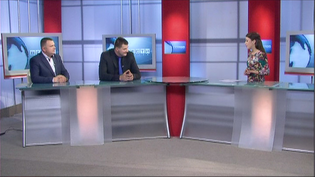 ВЕСТИ ОДЕССА / Гости Виталий Портянко и Свен Кукемелк