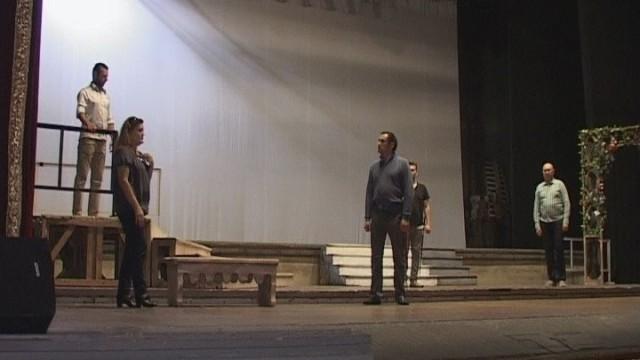 Король Рене в исполнении Александра Цымбалюка