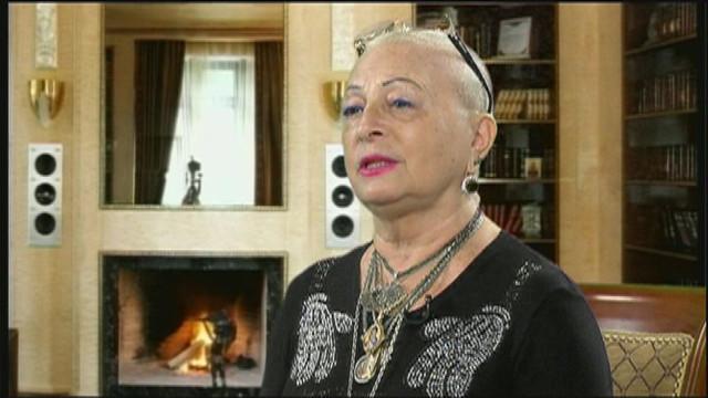 В студии-директор филармонии Галина Зицер