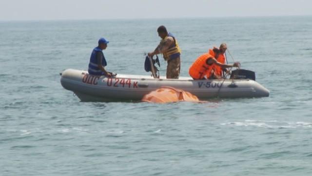 Учения спасательно-водолазной службы