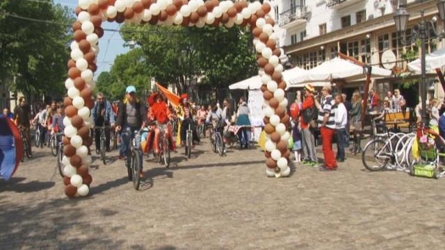Велопарад «TOUR D'ODESSA»