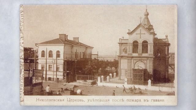 Свято-Никольский храм. Платоновский мол