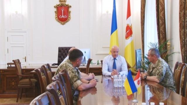 Встреча с мэром: поддержка украинской армии