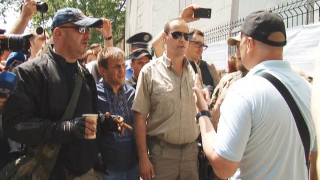 Инцидент на Думской: плакатами с обвинениями займется суд