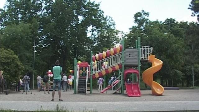 В Одессе появилась детская площадка для особых детей