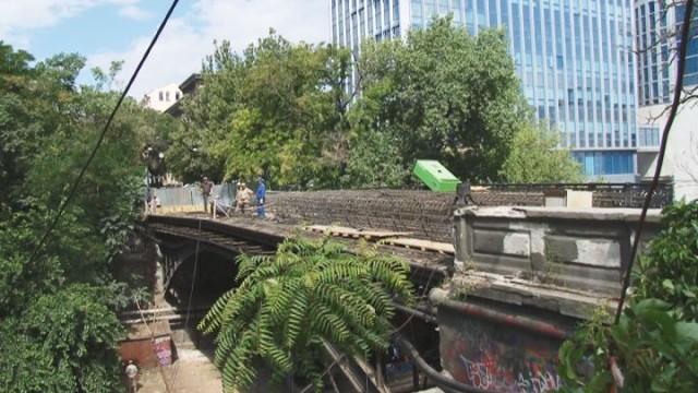 Капитальный ремонт моста Коцебу продолжается