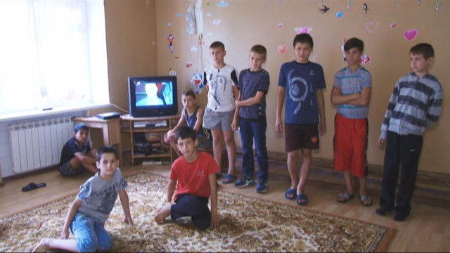 Санаторий «Ласточка» принял детей из зоны АТО