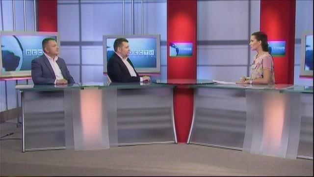 Вести-Одесса // Гость Виталий Портянко и Виктор Телегин