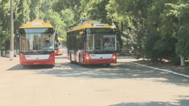 Новые троллейбусы выйдут на маршруты Одессы во вторник