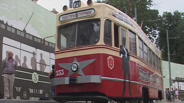 На трамвае в историю