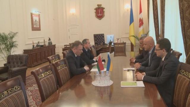Геннадий Труханов встретился с Генконсулом Республики Беларусь в Одессе