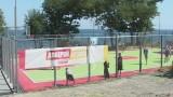 Открытие спортивного комплекса на Трассе Здоровья