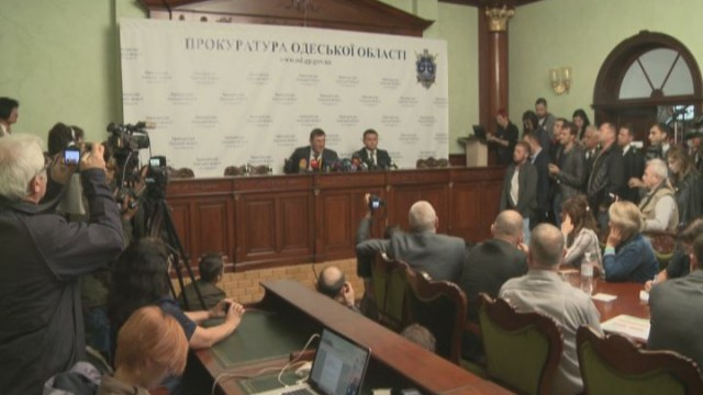 Визит Генпрокурора в Одессу