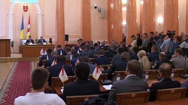 10-ая сессия Одесского городского совета