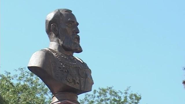 Памятник Маразли на Греческой площади