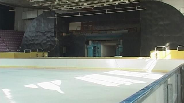 Ледовая арена в одесском Дворце спорта