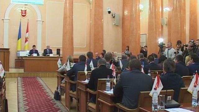 Внеочередная сессия Одесского горсовета