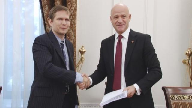 Одесский городской совет подписал договор с ЕБРР