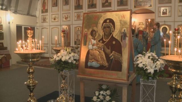 В Одессу прибыла точная копия иконы со святой горы Афон