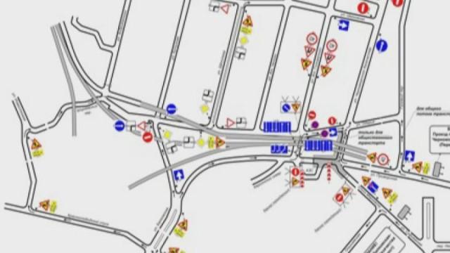 Движение в районе Пересыпского моста перекроют с 20 ноября