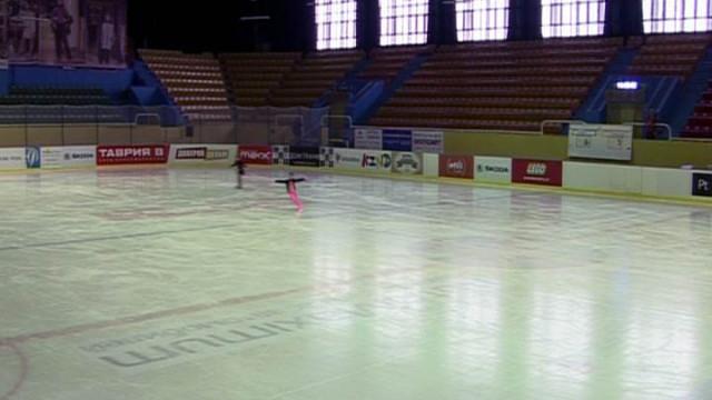 Ледовая арена Одессы принимает Всеукраинские соревнования