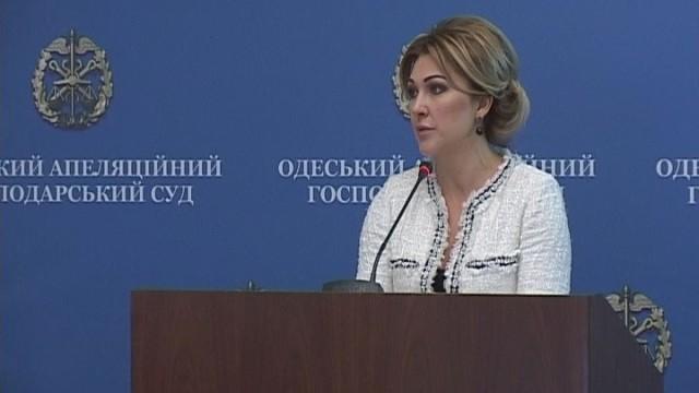 Вопросы хозяйственного суда: Наталья Морщагина встретилась с журналистами