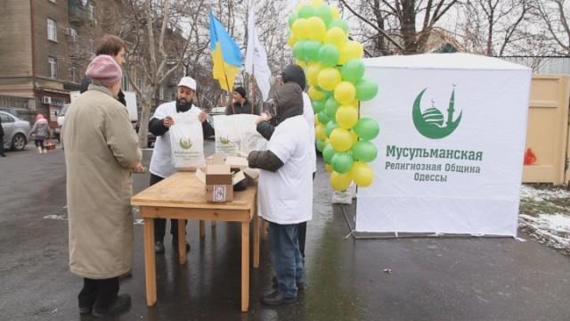 Одесские мусульмане отметили День рождения Пророка Мухаммада