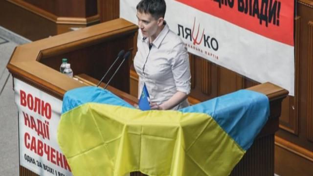 Встреча в Минске: реакция на Савченко