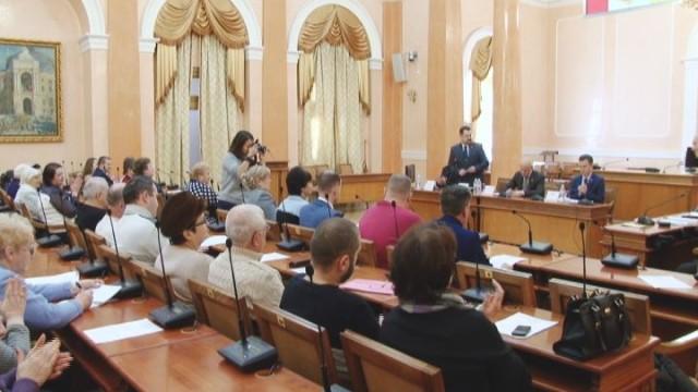 В мэрии состоялась конференция органов самоорганизации населения