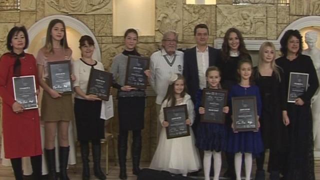 Награждение: Региональный конкурс скрипачей