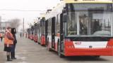 Новые троллейбусы на маршрутах №№7, 9, 10