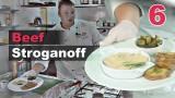 Как готовить бефстроганов?