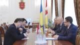 Мэр Одессы встретился с Генконсулом КНР в Одессе