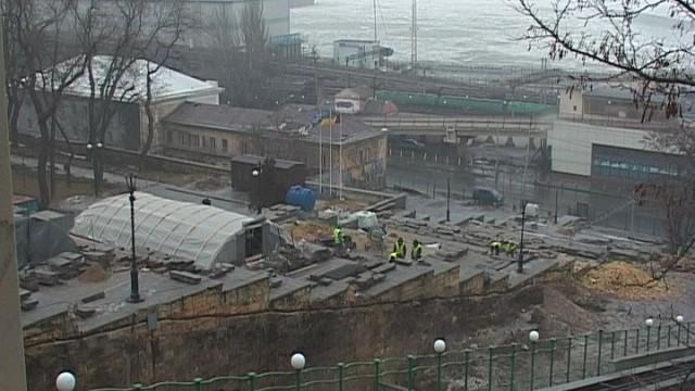 Потемкинская лестница: ремонтные работы идут по графику