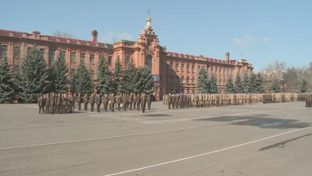Досрочный выпуск Военной академии Одессы