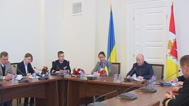 Вице-мэр встретился с французской делегацией